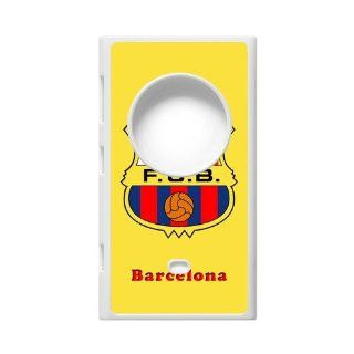 DIY Printed Hard Fashionable F.C.B Barcelona Club Logo Case Cover For Nokia Lumia 1020 0237 01 Cell Phones & Accessories