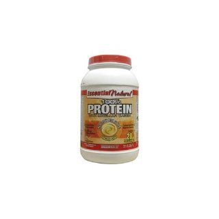 Iron Tek Essential Natural High Protein, Vanilla Cake, 2.1 Pound Health & Personal Care