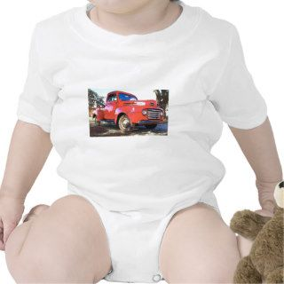 Antique Red Ford Truck T Shirts