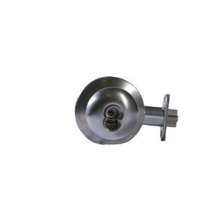"Arrow Lock H Series Grade 1 Satin Chromium Plated Cylindrical Entrance/Office Lock, 1 3/8"" to 2"" Door Thickness, T Cold Forged Knob (Pack of 1) Industrial Hardware"