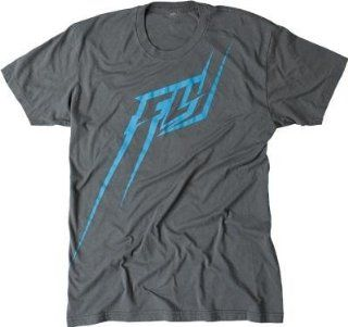 Fly Racing FLYght T Shirt , Distinct Name Gray/Teal, Primary Color Gray, Size Md, Gender Mens/Unisex 352 0326M Automotive