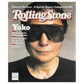 Rolling Stone Magazine # 353 October 1 1981 Yoko Ono (Single Back Issue) Rolling Stone Books