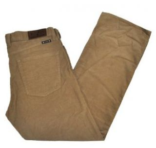 Lucky Brand 361 Vintage Straight Men's Corduroy Pants (32 x 30, Kahki) at  Men�s Clothing store