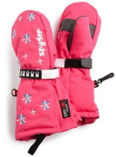 Spyder Infant/Toddler Girl's Bitsy Cubby Long Glove, Hot Pink, X Large  Skiing Gloves  Sports & Outdoors
