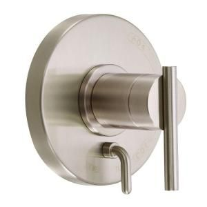 Danze Parma Single Handle Valve and Trim Only Tub and Shower Faucet in Brushed Nickel D500458BNT