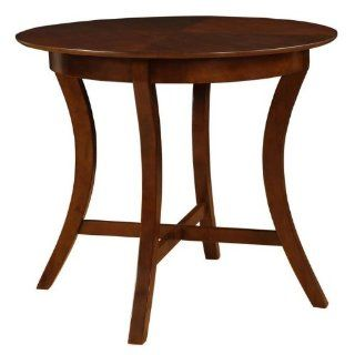 Powell Furniture York Merlot Gathering Table   383 441   Dining Tables