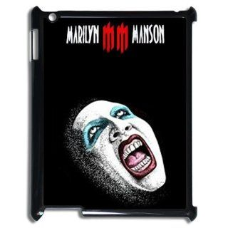 Metal band singer Marilyn Manson MM logo hard plastic case for Ipad 3 Cell Phones & Accessories
