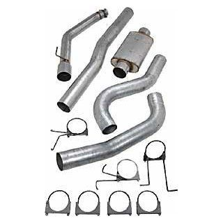 JEGS Performance Products 30432 Performance 5'' Diesel Exhaust System, Automotive