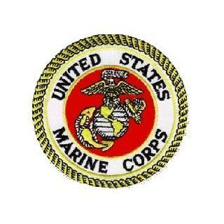 US Marine Corps Patch Military Collectibles, Patriotic Gifts for Men, Women, Teens, Veterans Great Gift Idea for Wife, Husband, Relative, Boyfriend, Girlfriend, Grandparent, Fiance or Friend. Perfect Christmas Stocking Stuffer or Veterans Day Gift Idea. De