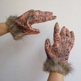 CosplayerWorld Halloween Props The Wolf Paw Gloves Toys & Games