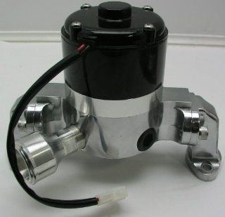 SBC Electric High Flow Polished Aluminum Water Pump Automotive