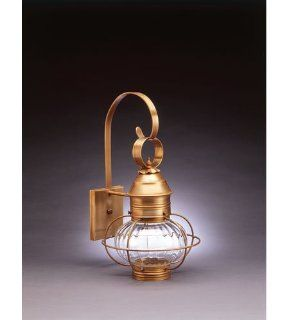 Northeast Lantern 2531 AB MED OPT Onion 1 Light Outdoor Wall Lights in Antique Brass   Wall Sconces