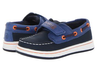 Sperry Top Sider Kids Cupsole 2 Eye A/C Boys Shoes (Blue)