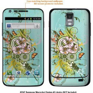 Protective Decal Skin Sticker for Samsung Galaxy S II Skyrocket (AT&T Model) case cover Skyrocket 436 Cell Phones & Accessories