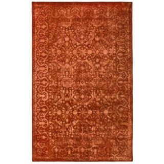 Safavieh Silk Road Rust 5 ft. x 8 ft. Area Rug SKR213E 5
