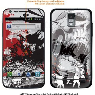 Protective Decal Skin Sticker for Samsung Galaxy S II Skyrocket (AT&T Model) case cover Skyrocket 439 Cell Phones & Accessories