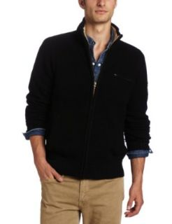 Lucky Brand Mens Triumph Pullover Mock neck Sweater, Black, Small at  Men�s Clothing store