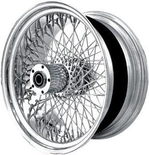 DNA 60 Spoke   21in. x 3in.   Single Disc   Front Wheel , Position Front, Rim Size 21, Color Chrome M21323242 Automotive