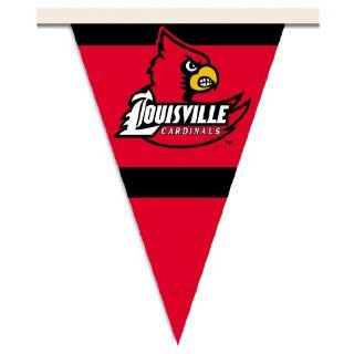 NCAA Louisville Cardinals 25 Foot Party Pennant Flags  Sports Fan Outdoor Flags  Sports & Outdoors