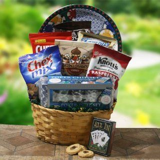 Dads Night Out Fathers Day Gift Basket  Gourmet Candy Gifts  Grocery & Gourmet Food