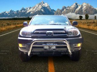 "2003 2009 Lexus GX470 2.5"" Black Horse Off Road Stainless Steel Bull Bar Brush Guard Bull Bar Automotive"