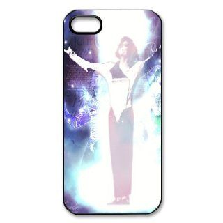 Custom Michael Jackson Back Hard Cover Case for iPhone 5 5s I5 463 Cell Phones & Accessories