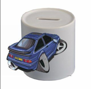FORD ESCORT RS 500 COSWORTH Koolart CERAMIC MONEYBOX (FREE PERSONALISATION ))479   Toy Banks