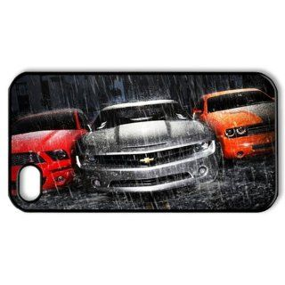 ByHeart Mustang Camaro Dodge Hard Back Case Skin for Apple iPhone 4 and 4S   1 Pack   Retail Packaging   479 Cell Phones & Accessories
