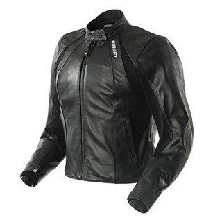 Shift Racing Women's Siren Leather Jacket   Small/Black Automotive