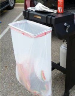 Trash Ease 13 Gallon Portable Trash Bag Holder   Outdoor Waste Bins