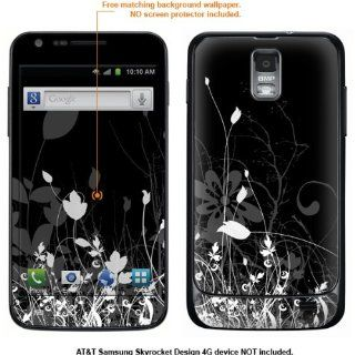 Protective Decal Skin Sticker for Samsung Galaxy S II Skyrocket (AT&T Model) case cover Skyrocket 483 Cell Phones & Accessories