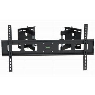 "InstallerParts Flat TV Corner Mount 37""~63"" LPA 13 484C Black    For LCD LED Plasma TV Flat Panel Displays    Articulating Dual Arm Full Mount Wall Bracket Electronics"