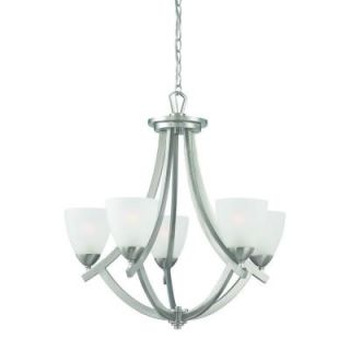 Thomas Lighting Charles 5 Light Brushed Nickel Chandelier DISCONTINUED TK0006217