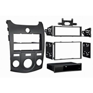 '10 Up Kia Forte/Kia Forte Koup Single Din and Double Din Radio Installation Kit  Black  Accessories Supplies