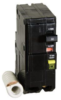 Square D by Schneider Electric QO260GFICP QO 60 Amp Two Pole GFCI Breaker   Ground Fault Circuit Interrupters