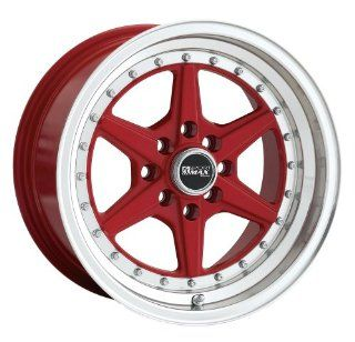 15x8 XXR 501 (Red) Wheels/Rims 4x100/114.3 (50158088) Automotive