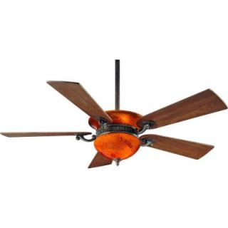 Hampton Bay Rhodes 52 in. Nutmeg Ceiling Fan 34002