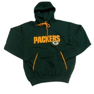 Green Bay Packers Charged Mens Pullover Hooded Sweatshirt  Sports Fan Sweatshirts  Sports & Outdoors