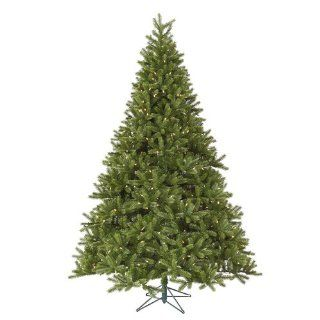 7.5' Pre Lit Tuscan Frasier Fir Artificial Christmas Tree   Warm White LED Lights