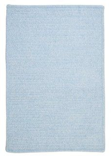 Colonial Mills Simple Chenille Sky Blue 7x9 Rug   Area Rugs