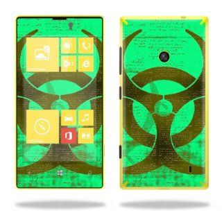 Protective Vinyl Skin Decal Cover for Nokia Lumia 520 Cell Phone T Mobile Sticker Skins Biohazard Computers & Accessories