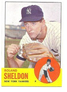 ROLAND SHELDON 1963 Topps #507 Card New York Yankees Baseball Sports Collectibles