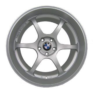 "19"" Eurotek Deep Dish Wheels Rims Set For BMW 525 528 535 550 Matte Silver (2007 2010) Automotive"