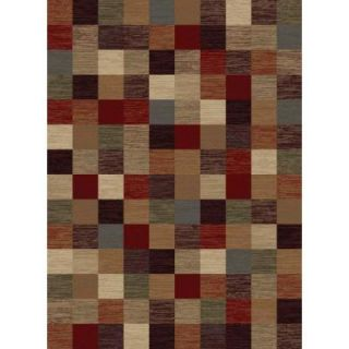 Tayse Rugs Festival Multi 5 ft. 3 in. x 7 ft. 3 in. Contemporary Area Rug 8710  Multi  5x8