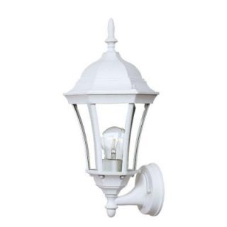 Acclaim Lighting Brynmawr Collection Wall Mount 1 Light Outdoor Textured White Light Fixture 5020TW