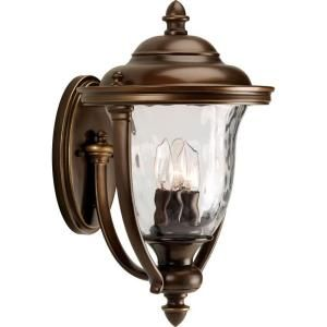 Progress Lighting Prestwick Collection Oil Rubbed Bronze 3 light Wall Lantern P5923 108
