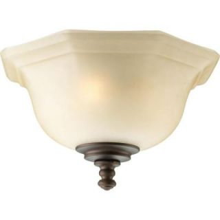 Thomasville Lighting Guildhall Collection 3 Light Roasted Java Ceiling Fan Light P2639 102