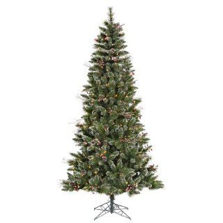 6 ft. x 36 in.   Snow Tip Pine/Berry   532 Classic PVC Tips   250 Clear Mini Lights   Artificial Christmas Tree   Vickerman B106261