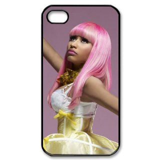 Custom Nicki Minaj Cover Case for iPhone 4 4S PP 1040 Cell Phones & Accessories