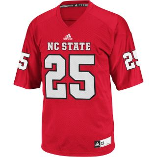 adidas Mens North Carolina State Wolfpack Team Color Replica Football Jersey
